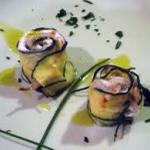 Rotolini Cernia e Zucchine